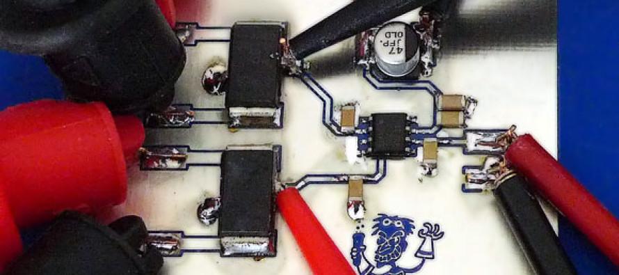 Komparator TLV3501 vermessen