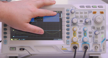 Gadget Inspektor:<br/>Rigol DS2202 Benutzerinterface