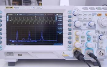 Gadget Inspektor:<br/>Rigol DS2202 Fourier Transformation (Video)