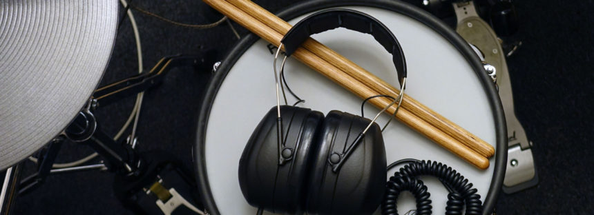 Schlagzeug: Super-Isolierender Kopfhörer – Selbstbau